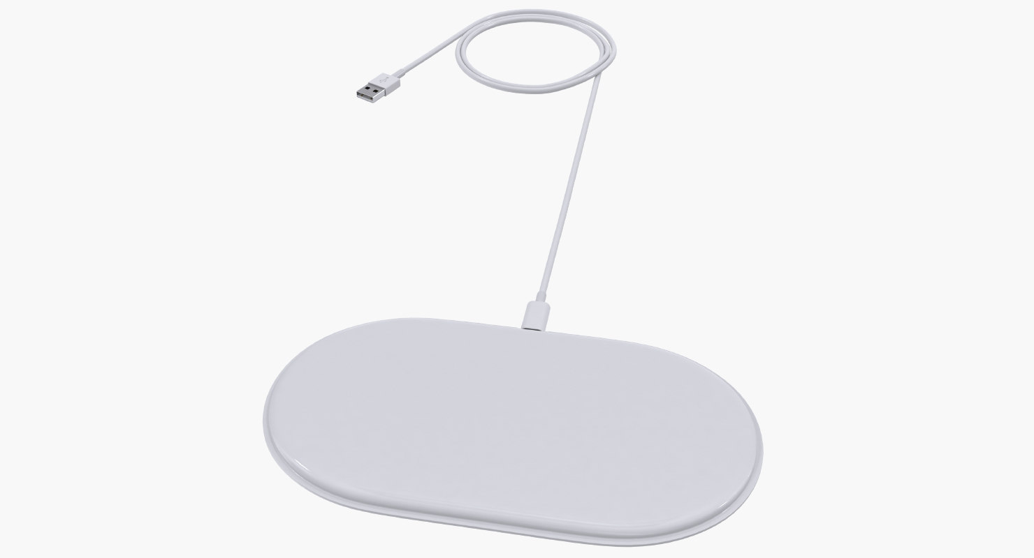 3D apple airpower wireless charger