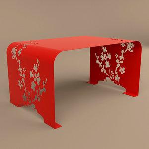 laskowscy lawa orient table 3D model