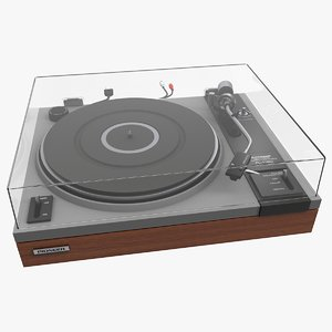 turntable pioneer pl-112d 3D