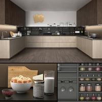 kitchen varena poliform 3D model