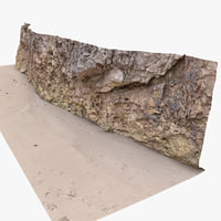 Rock 3D Scan 29 (Natural Rock Wall)(1)