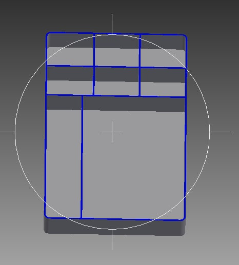 storage tray organize 3D model