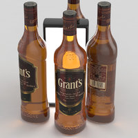 Alcohol Bottle Grants Red Blended Scotch Whisky 700ml