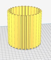 geared vase model