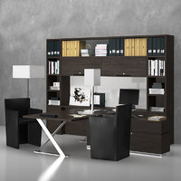 writing desk ac executive 3D model
