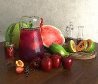 food drink 3D model