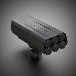 design sci-fi props model