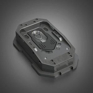 3D model design props