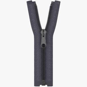 3D nylon zipper