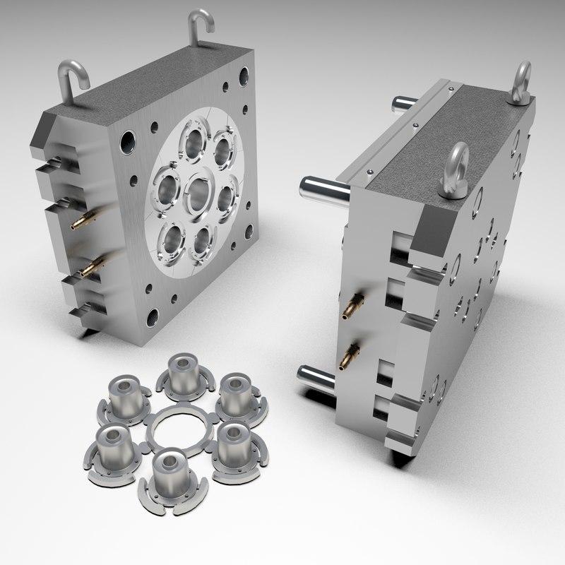 3D mold casting