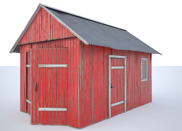 3D shed industrial farm