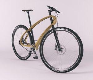 bicycles wheel 3D model