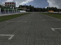 3D track kart
