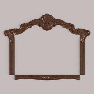 3D carved frame cnc
