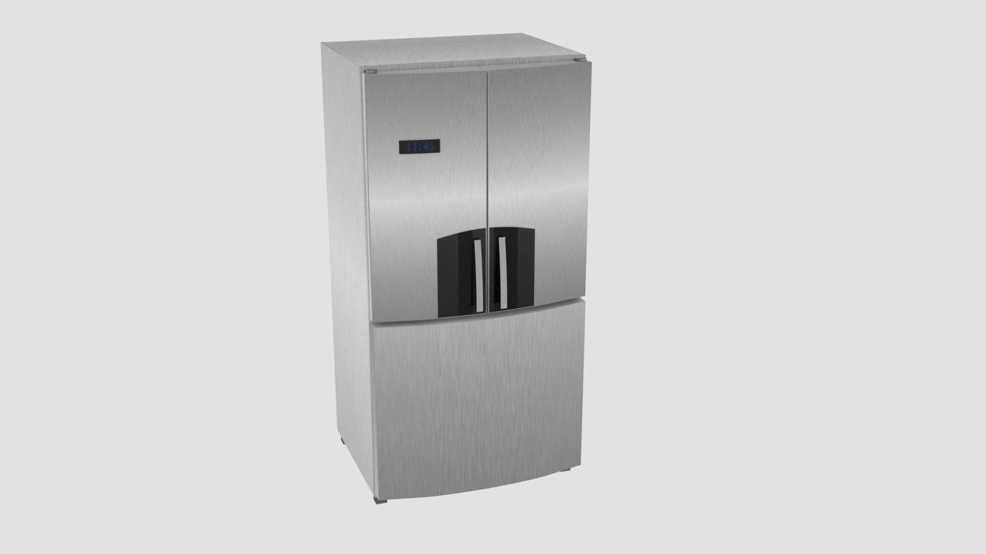 house-old appliances 3D model
