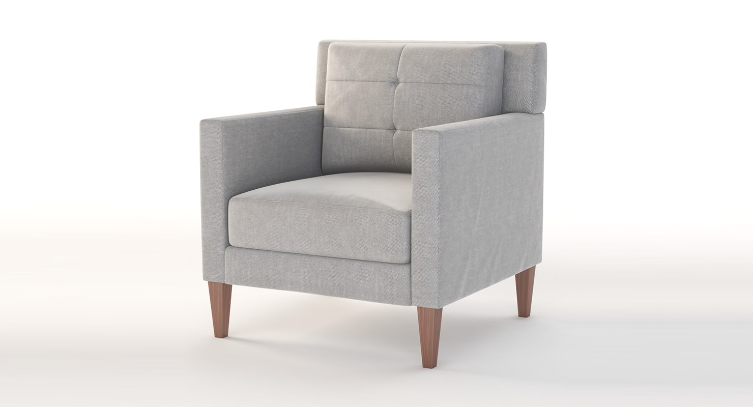realistic photoreal lounge 3D