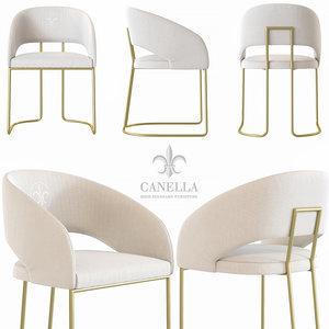 klass chairs 3D