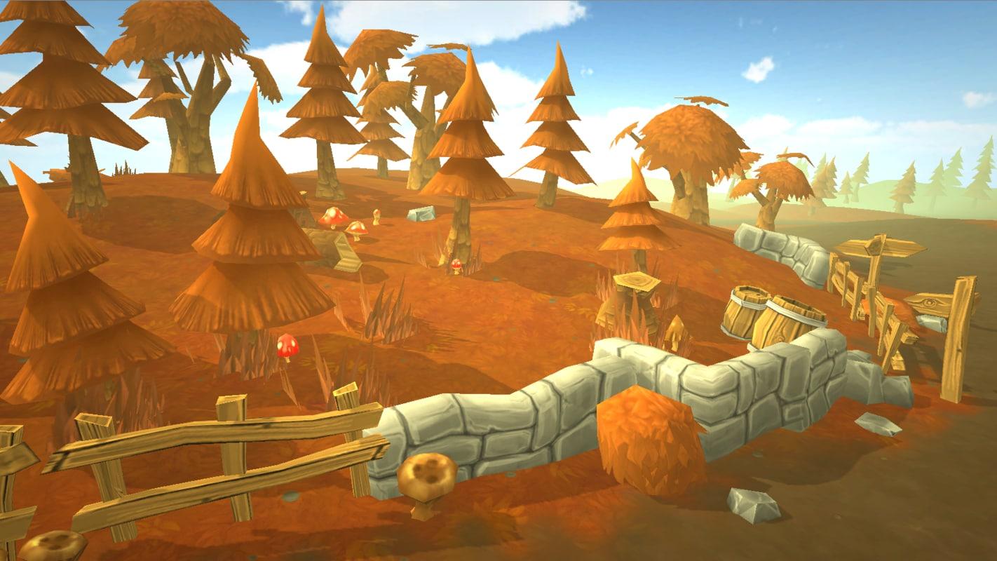 fantasy autumn 3D