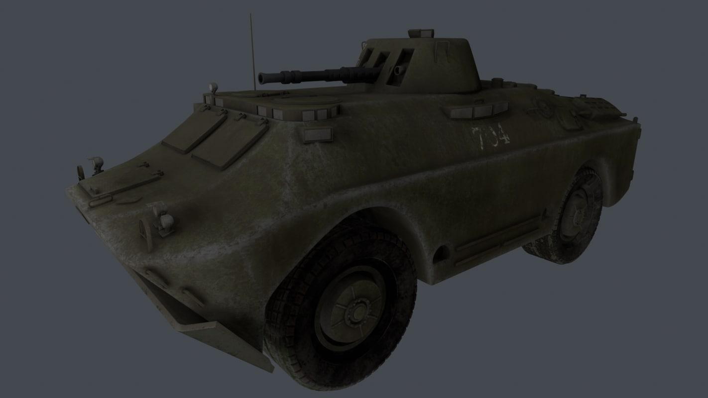 armored reconnaissance patrol vehicle 3D