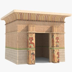 3D ancient egyptian model