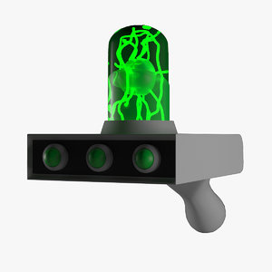 ricks portal gun 3D model