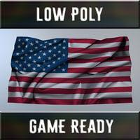 Flag for wall (USA)