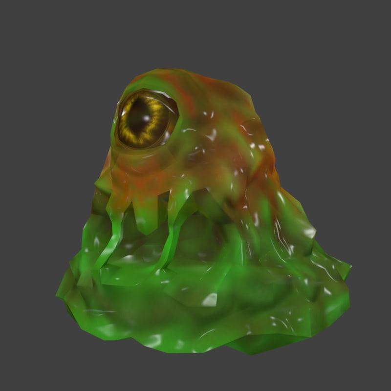 jelly monster 3D