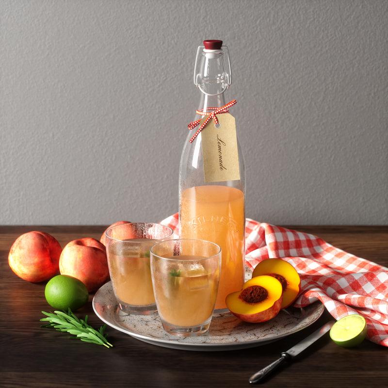 limonade set 3D