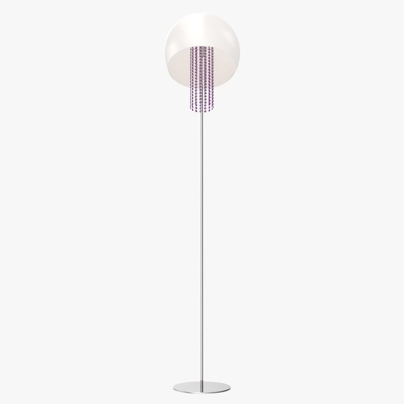 masiero frise stl1 floor lamp 3D