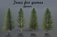 landscape trees model