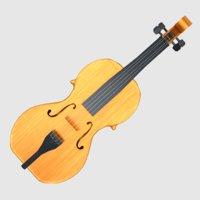 violin games classical 3D model