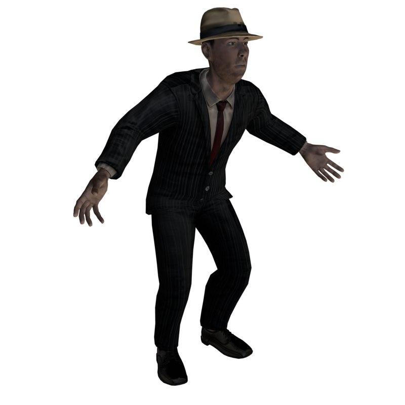 3D gangster games realtime