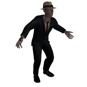 3D gangster games realtime