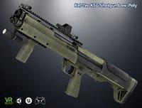 3D optimized ksg shotgun model