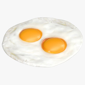 fried eggs model