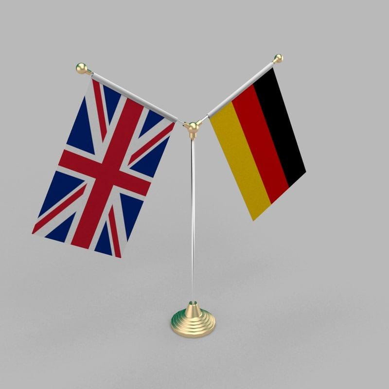 3D table friendship flag