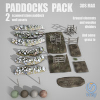 paddocks kit 3D model