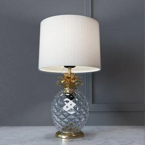 decorative lamp glamour pineapple 3D