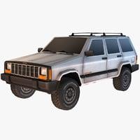 jeep cherokee 3D