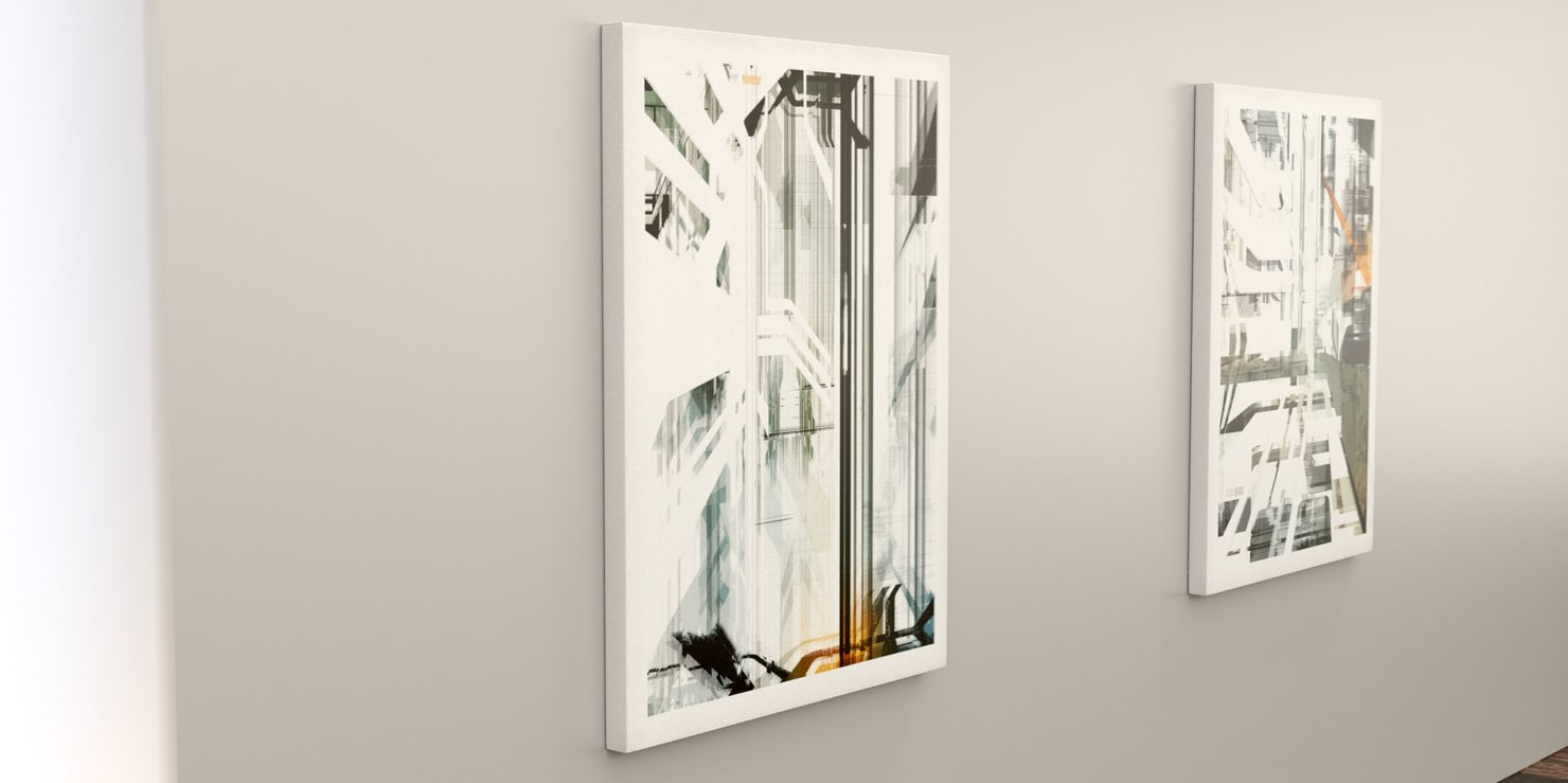 elevator painting architectural 3D model