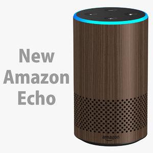 3D amazon echo new model
