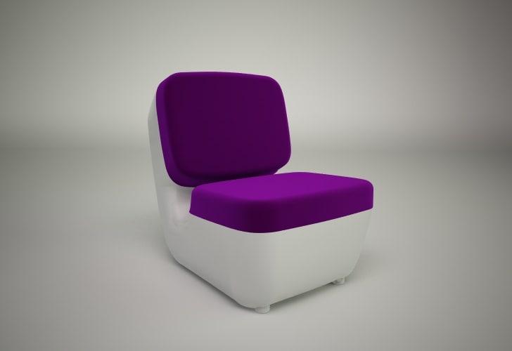 nimrod chair magis 3D model