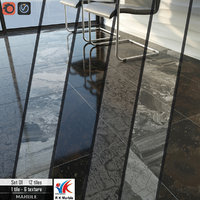 3D tile r k marble model