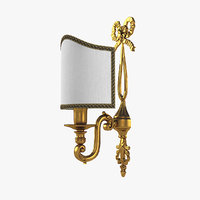 classical wall lamp 3D model