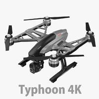 3D typhoon h 4k
