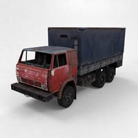 3D truck vehicle kamaz