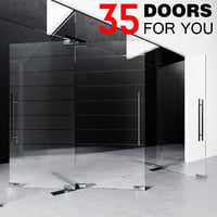 3D door fitting glass