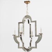3D chandelier visual comfort nw5040am