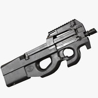 P90 AAA Game Weapon