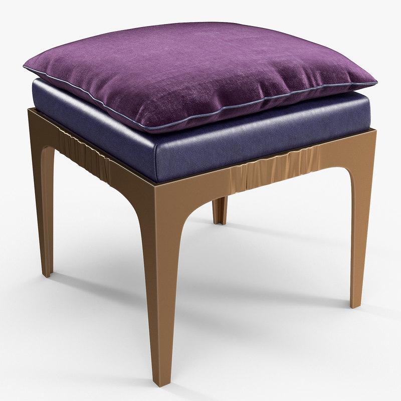 3D promemoria - montagu stool